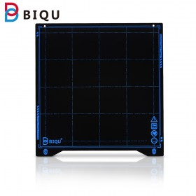 BIQU SSS Super Spring Steel Sheet Heated Bed Build Plate Platform 235x245MM Printer Parts For filament Ender 3 printer