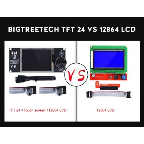 "BIGTREETECH TFT 2.4"" V1.1 3D Printer Display"