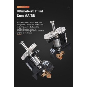 BIQU Ultimaker3 Print Core AA/BB 3D Printer Replacement Print Core AA/BB hotend Kit For Ultimaker 3 Spare Parts