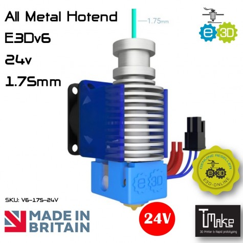 E3D V6 All-Metal HotEnd 1.75mm 24V