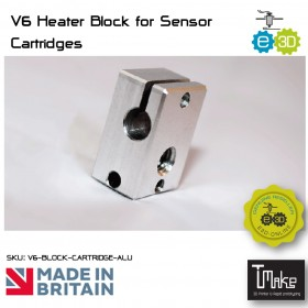 E3D V6 Heater Block for Sensor Cartridges