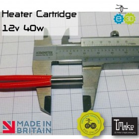 E3D Heater Cartridge - 12v 40w