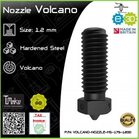 E3D Nozzle Volcano Hardened Steel 1.75mm x 1.2mm