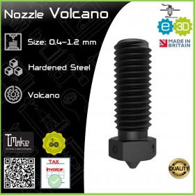 E3D Nozzle Volcano Hardened Steel 1.75mm x 0.4-1.2mm