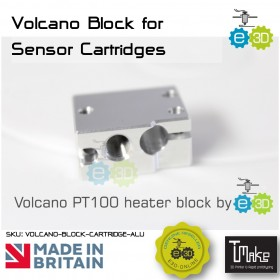 E3D Volcano Block for Sensor Cartridges