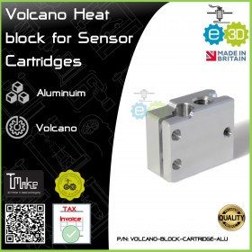 E3D Volcano Heat Block for Sensor Cartridges