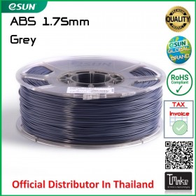 eSUN ABS Filament Grey 1.75 mm.