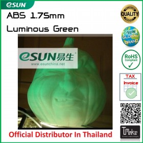 eSUN ABS Filament Luminous Green 1.75 mm.