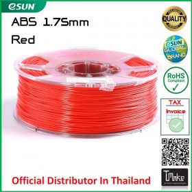 eSUN ABS Filament Red 1.75 mm.