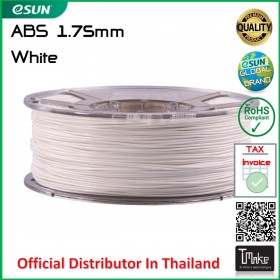 eSUN ABS Filament White 1.75 mm.