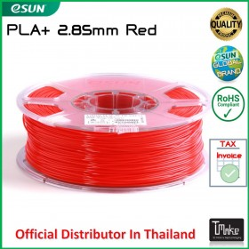 eSUN PLA+ Filament Red 2.85 mm.
