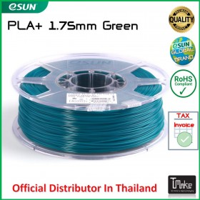eSUN PLA+ Filament Green 1.75 mm.