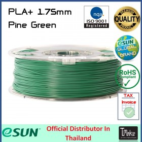 eSUN PLA+ Filament Pine Green 1.75 mm.