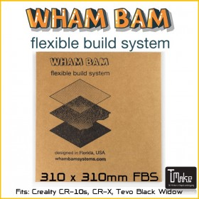 WHAM BAM Flexible Build System 310x310mm